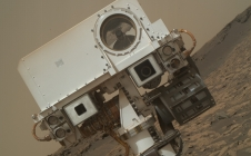 Autoportrait du mat de Curiosity