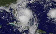 L'ouragan Matthew observé le 6 octobre 2016 par le satellite américain GOES-East