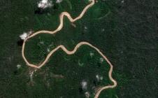 La forêt tropicale au Pérou (région d'Ucayali) observée par Venμs le 19 août 2017