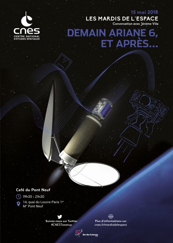 Mardis de l'Espace : 15 Mai 2018 - Demain Ariane 6, et après ?